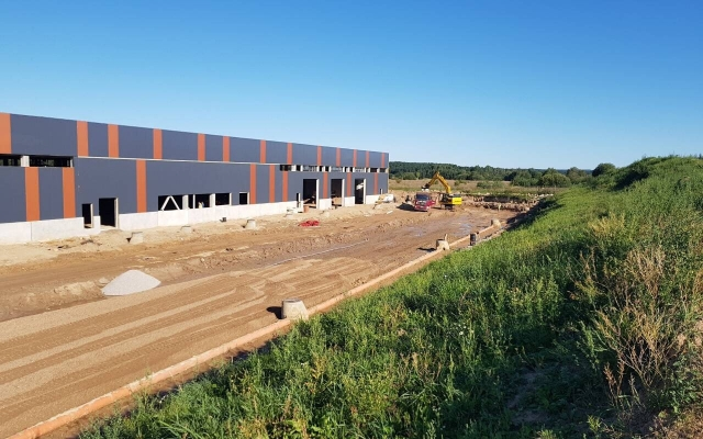 Gamybinės paskirties pastato statyba Aviacijos g. 2, Karmėlava, Kauno raj. sav.