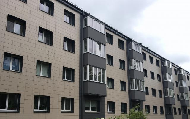 Daugiabučio namo renovacijos darbai - Vilniaus g. 1, Karmėlava II, Kauno r.