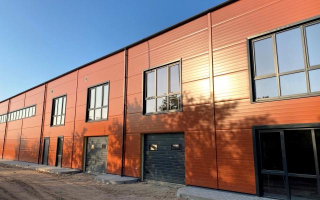 Sandėliavimo paskirties pastato, Marijampolės g. 11, Pagirių km., Kauno r. statybos darbai