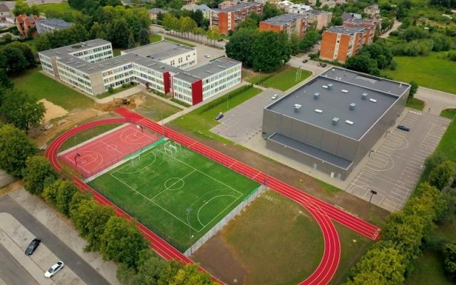 Sporto  paskirties inžinerinio statinio, Vasario 16-osios g. 8, Garliava, Kauno r.sav rangos darbai