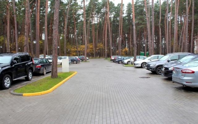 Automobilių aikštelės įrengimas - Algirdo g. 22, Birštone